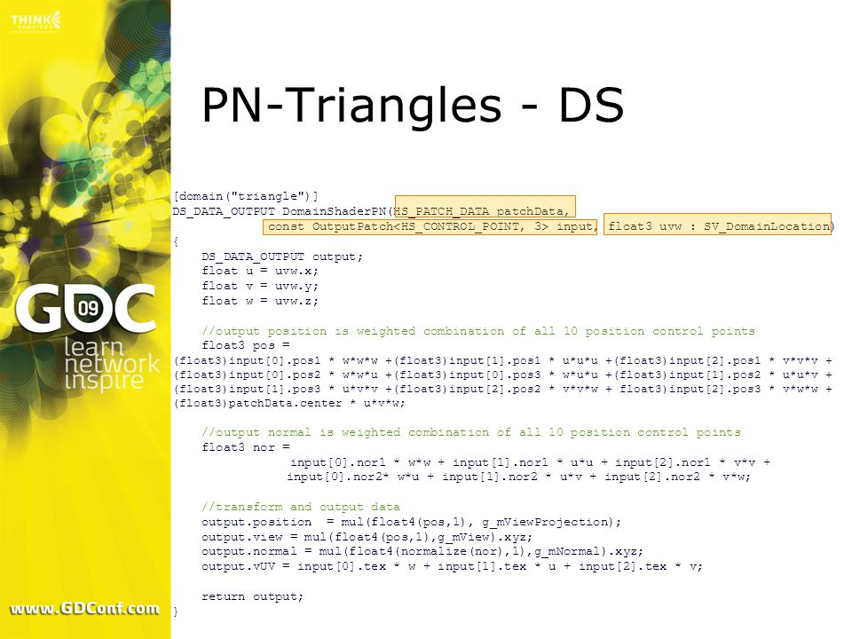 PN-Triangles - DS [domain( triangle )]